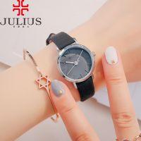 Đồng hồ nữ Julius JA963 dây da đen