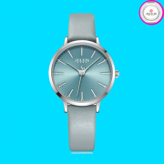 Đồng hồ nữ JULIUS JA1034 dây da xanh