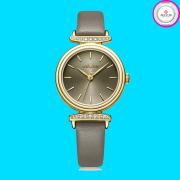 Đồng hồ nữ JULIUS JA1031 dây da xám