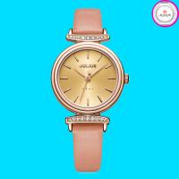 Đồng hồ nữ JULIUS JA1031 dây da hồng