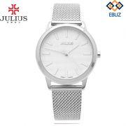 Đồng hồ nam Julius JA982 dây thép (trắng bạc)