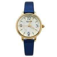 Đồng hồ nữ JULIUS JA929 dây da (xanh dương)