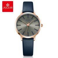 Đồng hồ nữ JULIUS JA-1034 dây da xanh