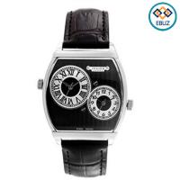 Đồng hồ nam Julius JAh062 dây da đen - Julius Homme