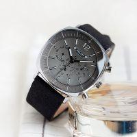Đồng hồ nam Julius JAh098 dây da đen - Julius Homme