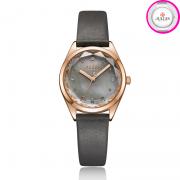 Đồng hồ nữ Julius JA-973 dây da xám