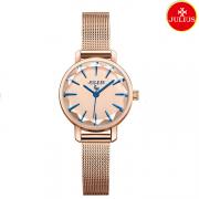 Đồng hồ nữ Julius Ja1063 dây thép vàng đồng