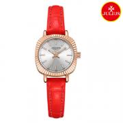 Đồng hồ nữ Julius Ja1056 dây da đỏ