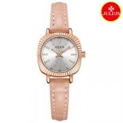Đồng hồ nữ Julius Ja1056 dây da hồng