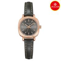 Đồng hồ nữ Julius Ja1056 dây da đen