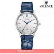 ĐỒNG HỒ nữ  VALENCE VC060 dây da xanh kính sapphire (New Arrival)