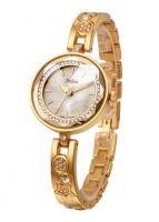 Đồng hồ nữ JULIUS JA624 dây thép (vàng)