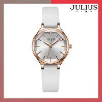 ĐỒNG HỒ Nữ JULIUS STAR JS008 dây da trắng