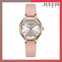 ĐỒNG HỒ Nữ JULIUS STAR JS008 dây da hồng