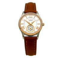 Đồng hồ nữ Valence VC052 dây da nâu kính sapphire