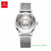 Đồng hồ Julius nữ JA1129A dây thép bạc