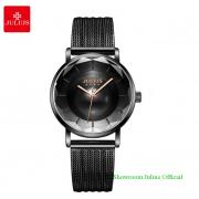 Đồng hồ Julius nữ JA1129A dây thép đen