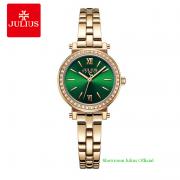 Đồng hồ Julius nữ JA1124A dây thép vàng