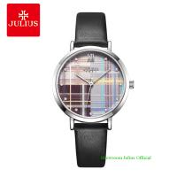 Đồng hồ Julius nữ JA1133 dây dây da đen