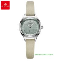 Đồng hồ Julius nữ JA1131 dây dây da kem