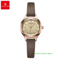 Đồng hồ Julius nữ JA1131 dây dây da nâu