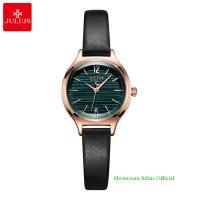 Đồng hồ Julius nữ JA1131 dây dây da đen
