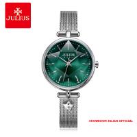 Đồng hồ Julius nữ JA1145 dây thép bạc