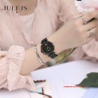 ĐỒNG HỒ Nữ JULIUS STAR JS003 dây đen
