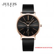 ĐỒNG HỒ Nữ  JULIUS STAR JS022 kính sapphire (đen)