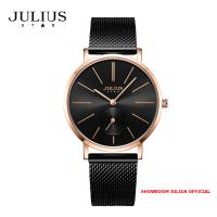 ĐỒNG HỒ Nữ  JULIUS STAR JS022 kính sapphire (đen) - Size 36