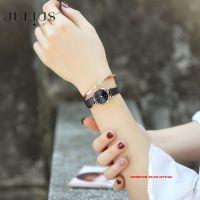 ĐỒNG HỒ Nữ JULIUS STAR JS001 dây thép đen