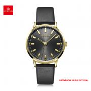 Đồng hồ Julius nữ JA1149 dây da đen
