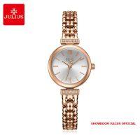 Đồng hồ nữ Julius JA1139 dây thép vàng đồng