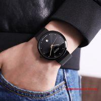 Đồng hồ nam JULIUS JA426 dây thép (đen)