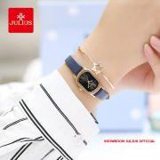 Đồng hồ nữ Julius JA1112 dây dây xanh