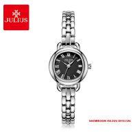 Đồng hồ nữ Julius JA1150 dây thép mặt đen - SIZE 23