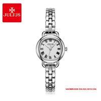 Đồng hồ nữ Julius JA1150 dây thép mặt trắng - SIZE 23