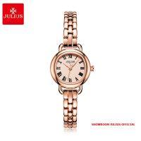 Đồng hồ nữ Julius JA1150 dây thép vàng đồng