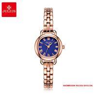 Đồng hồ nữ Julius JA1150 dây thép vàng đồng mặt xanh