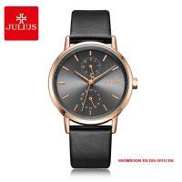 Đồng hồ nữ Julius JA1159 dây da đen