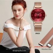 Đồng hồ nữ Julius JS025B kính Sapphire khóa nam châm