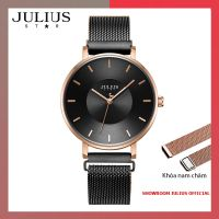 Đồng hồ nữ Julius JS025D kính Sapphire khóa nam châ