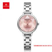 Đồng hồ nữ Julius JA1152 dây thép bạc