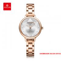 Đồng hồ nữ Julius JA1152 dây thép đồng trắng