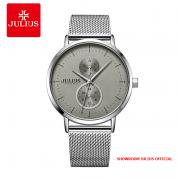 Đồng hồ nam Julius JAH105 dây thép bạc