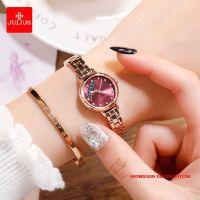 Đồng hồ nữ Julius JA1157 dây thép vàng đồng tím