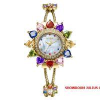 Đồng hồ nữ Julius Star JS 021 dây thép vàng