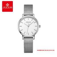Đồng hồ Julius nữ JA1164LA dây thép bạc - Size 28