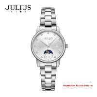 Đồng hồ nữ Julius JS029A kính Sapphire dây Inox