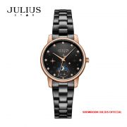 Đồng hồ nữ Julius Star JS029D kính Sapphire dây Inox